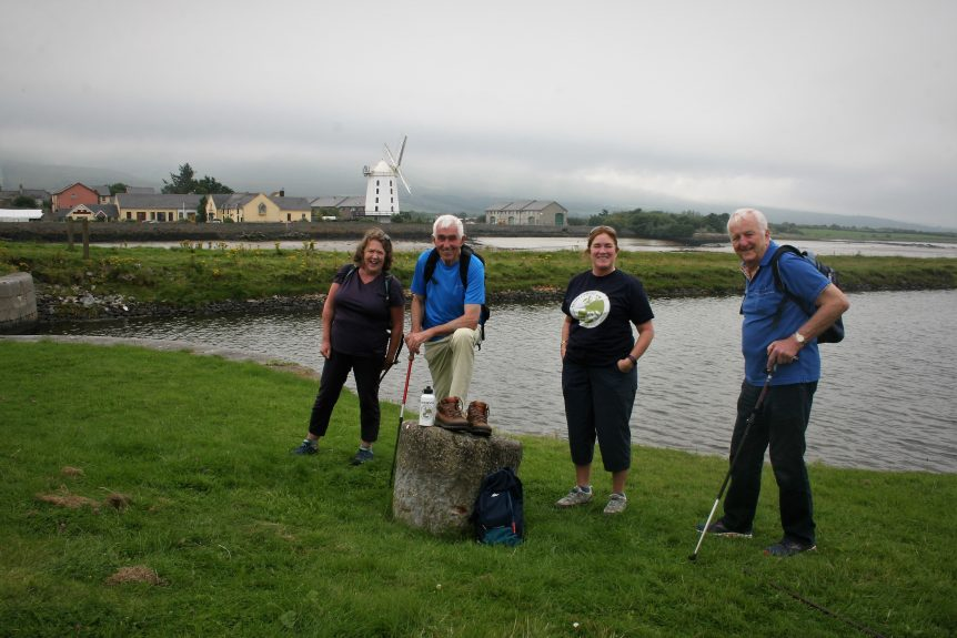 image of Kerry Camino Committee near Blennerville Bridge Tralee Co. Kerry