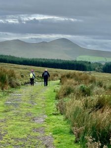 walkers during the kerry camino weekend